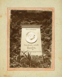 Gedenkstein für Friedrich Adolph Haage - erste Version